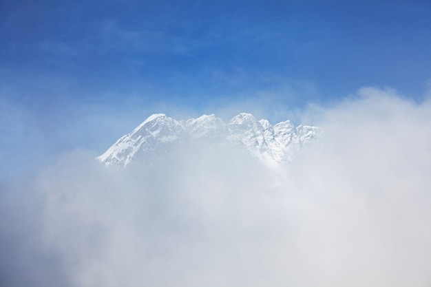 ヒマラヤ、サガルマータ地方の山々