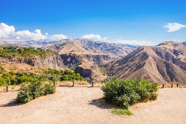 Mountains near garni