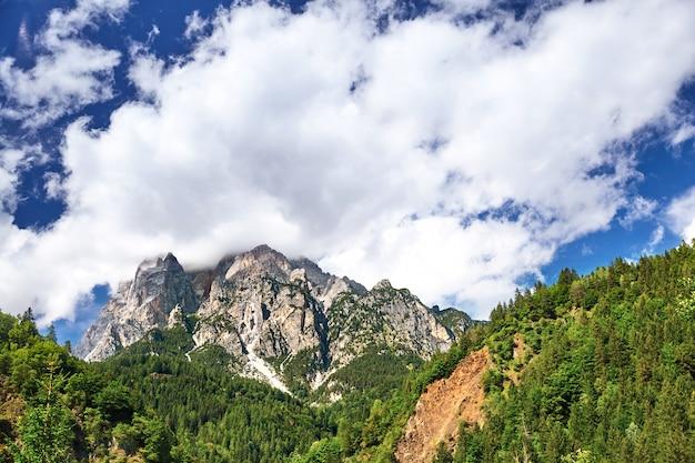 Mountains near san candido village