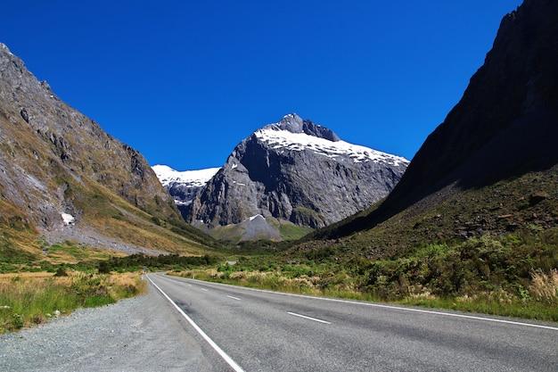 남 섬, 뉴질랜드의 산