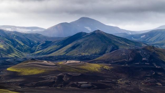 Mountains panorama view
