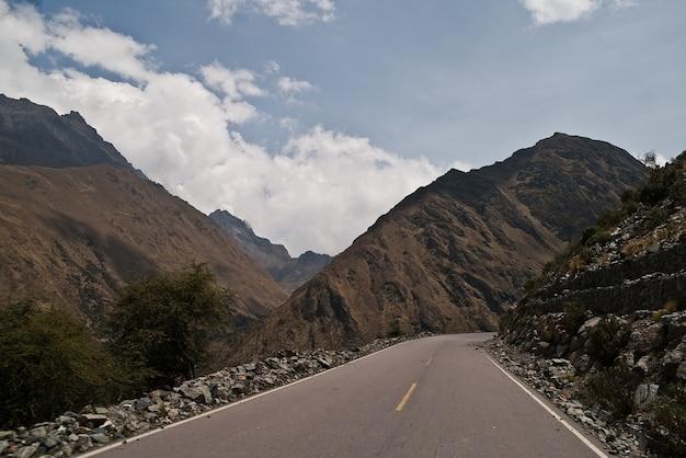 Mountains road peru