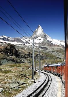 Горы швейцария matterhorn gornergrat