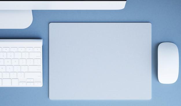 Mousepad top view