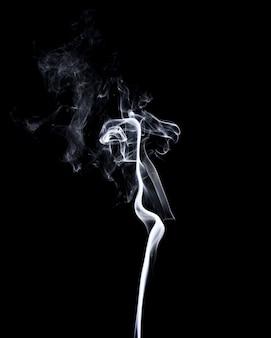 Movement of colorful smoke