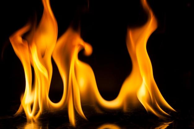 Движение огня