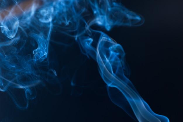 Движение белого дыма