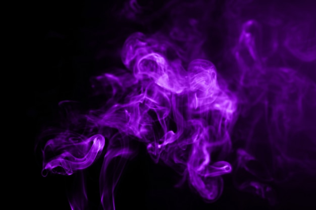 Movement of smoke abstract on background