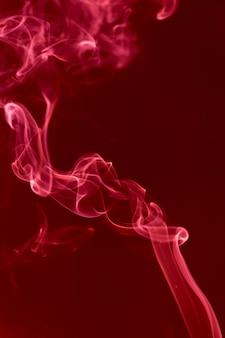 Movement of white smoke