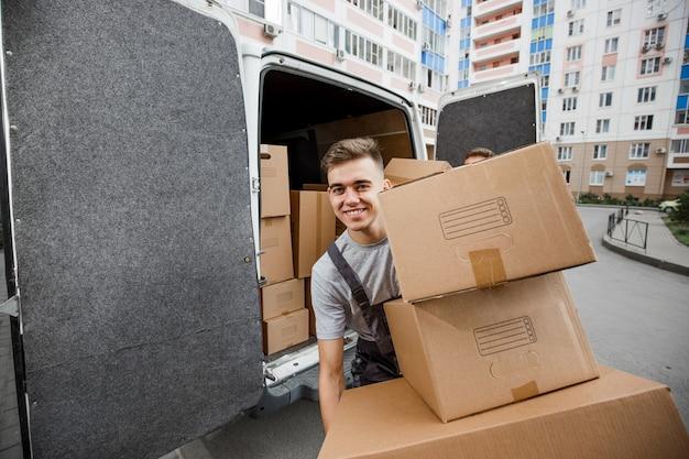 引っ越し業者サービス