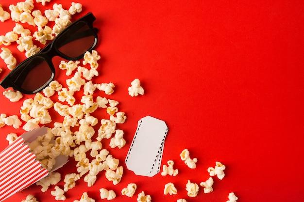 Movie arrangement with copy space
