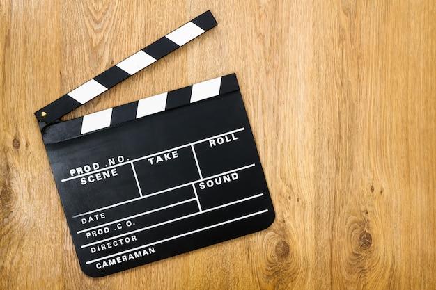 Movie production clapper