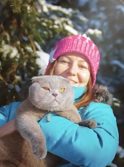 Mr. cat outdoors
