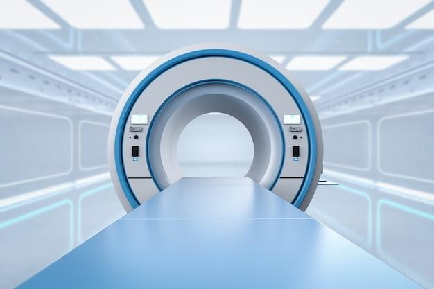 Аппарат мрт или устройство сканирования магнитно-резонансной томографии Premium Фотографии