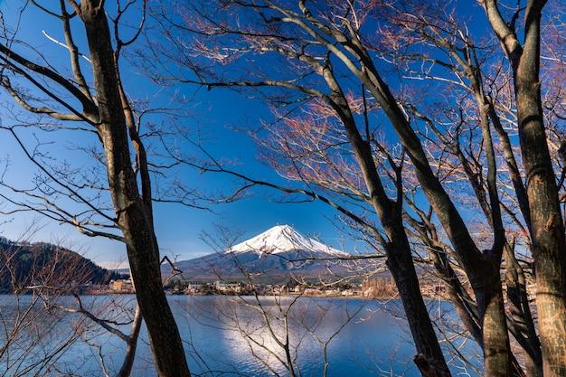Mt. fuji at kawaguchiko fujiyoshida, japan.