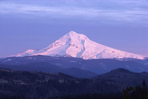 マウントオレゴン風景ボンネットmt自然山