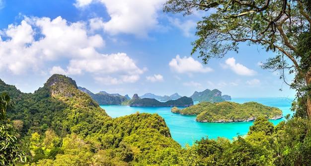 Национальный парк му ко анг тонг в таиланде