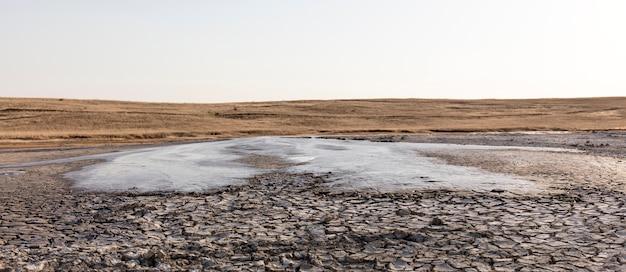 진흙 화산 분화, 풍경