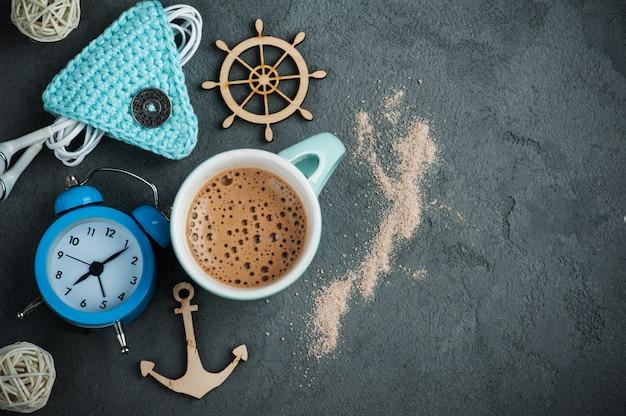 Mug of hot chocolate or cocoa