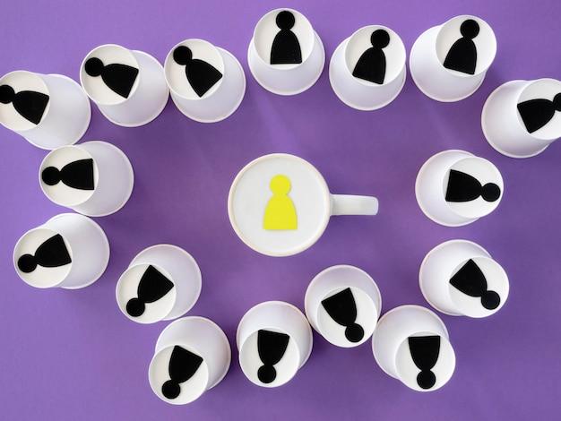Mug with boss sticker