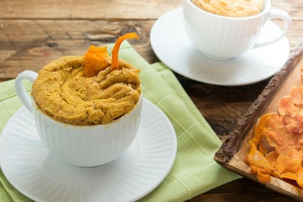 Mugcake pumpkin