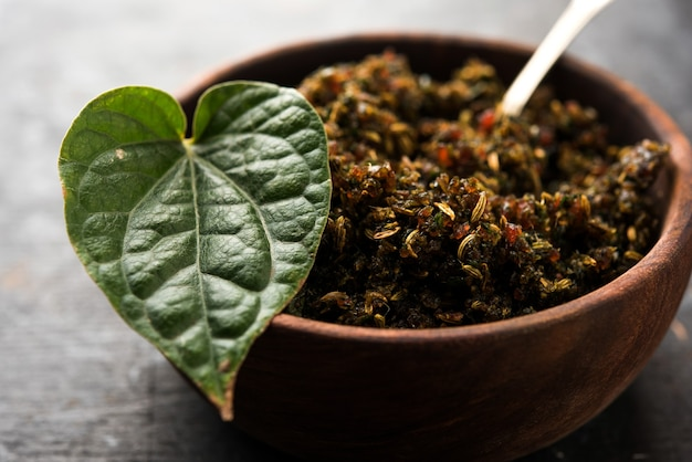 Mukhwas or tambul is a fine mixture of paan masala. it's popular mouth freshener from india consumed after meals. also offered to goddess durga devi in puja