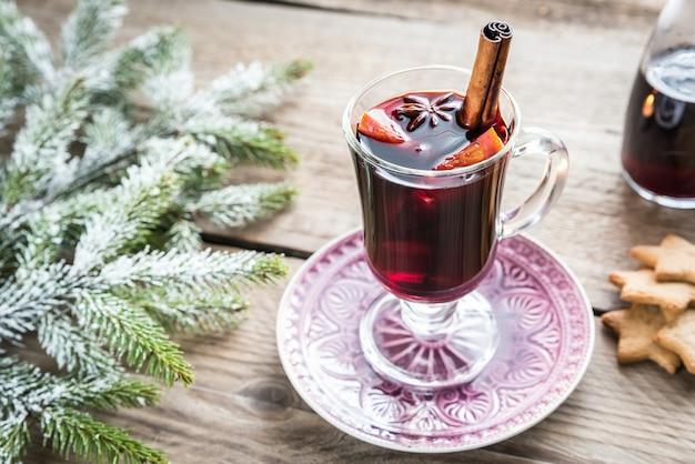 クリスマスイブのグリューワイン