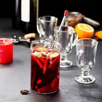 Глинтвейн. зимний согревающий напиток из вина.