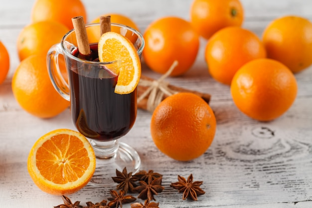 Глинтвейн с апельсинами