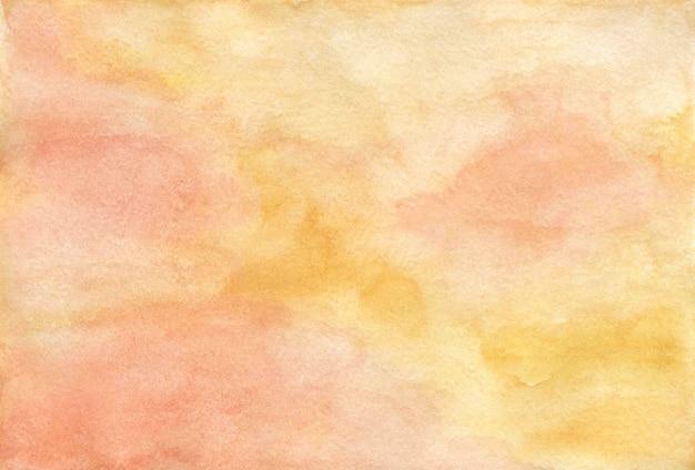Разноцветный абстрактный акварельный фон, ручная роспись акварелью