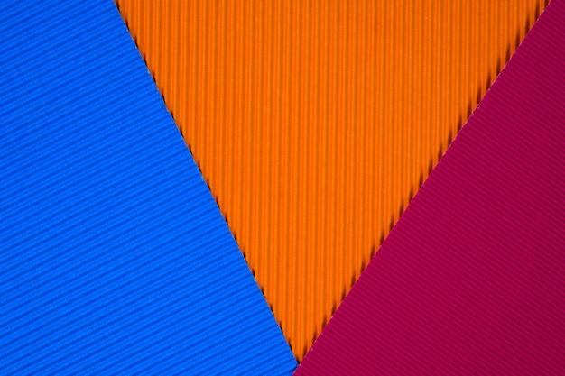 Multi colored corrugated paper texture
