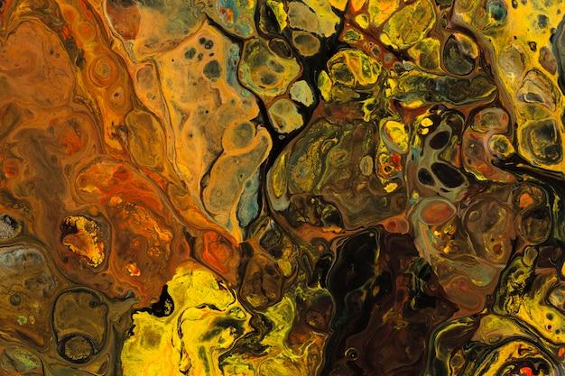 Разноцветный психоделический фон