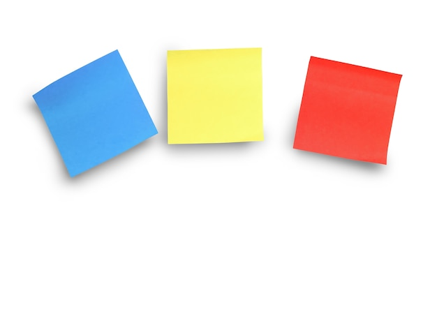 Multi-colored sticky stickers for your messages