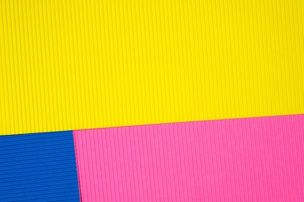 Multi colour corrugated paper texture
