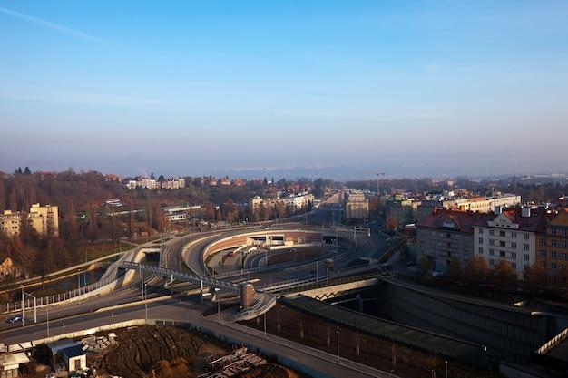 Multi-level road  interchange