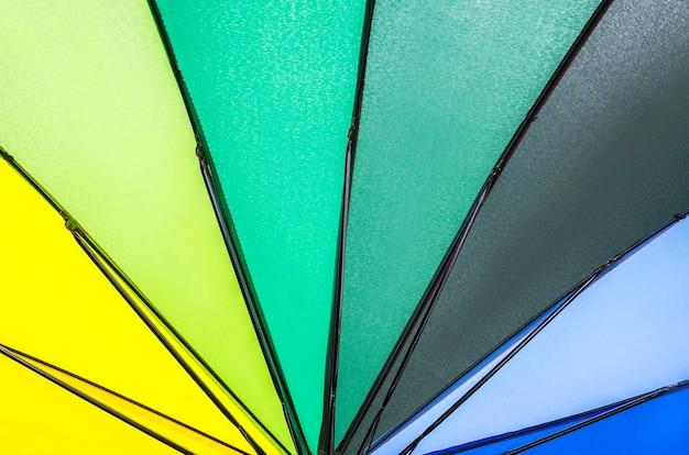 Мульти радужный зонтик