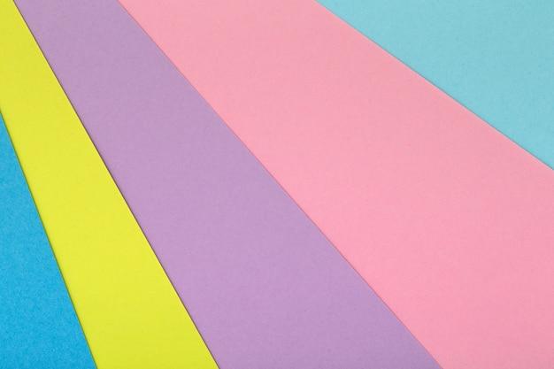 Многоцветный фон из картона разных цветов