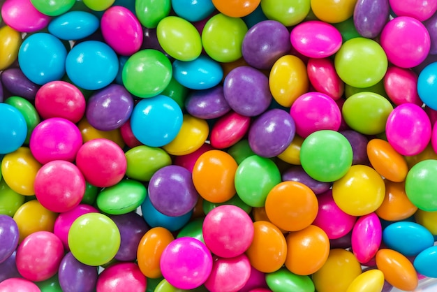 Multicolor candy background