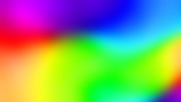 Multicolor rainbow flowing background