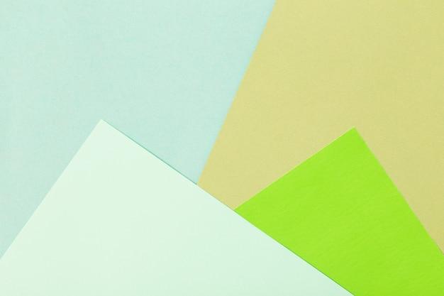 Multicolored cardboard background
