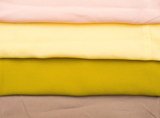 Разноцветный тканевый фон