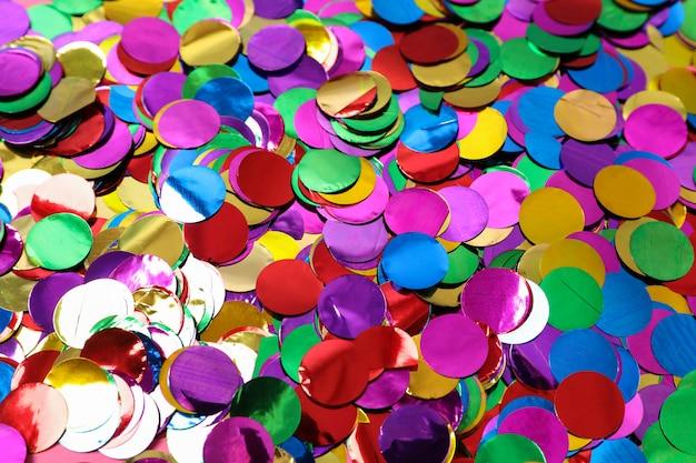 Разноцветные текстуры блеск в целом, крупным планом
