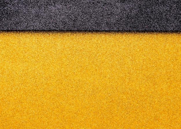 Glitter lucido multicolore con spazio di copia