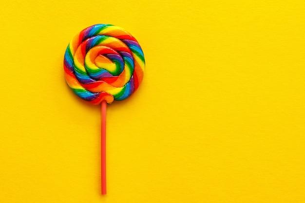 Multicolored lollipop