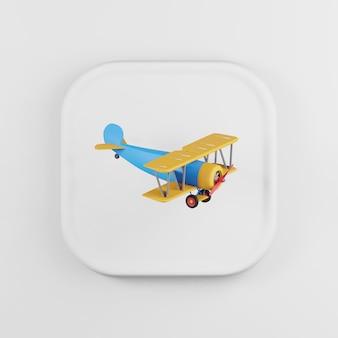Multicolored plane icon