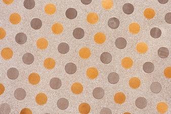 Multicolored polka dot background