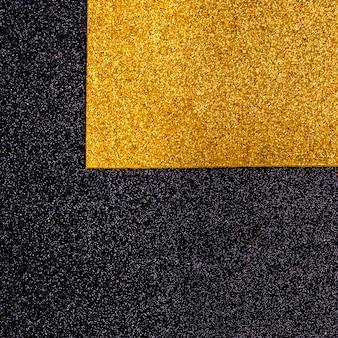 Glitter luccicanti multicolori con spazio di copia