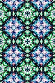 Разноцветный акварельный узор