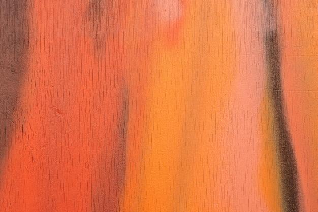 밝은 여름 그늘에서 배경으로 여러 가지 빛깔 된 나무 보드.