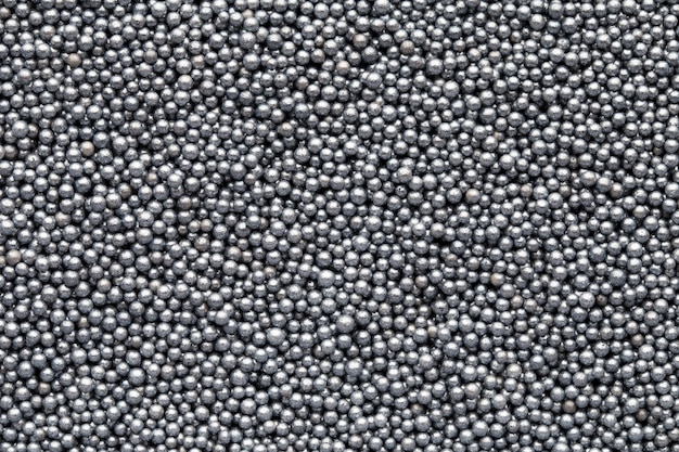 여러 가지 빛깔의 달콤한 설탕 공. 작은 공 패턴.